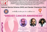 Webinar Breast Cancer Awareness