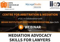 Webinar: Mediation Advocacy Skills for Lawyers