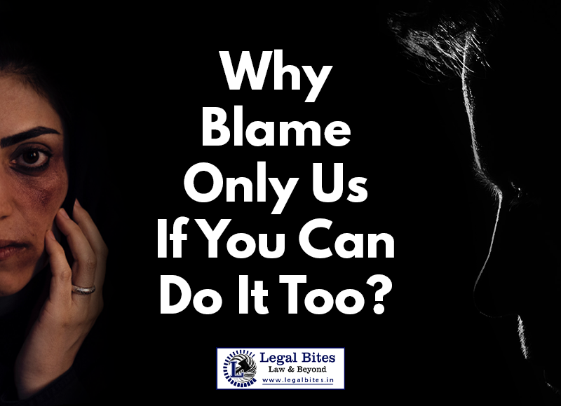 Domestic Violence Against Men and Women in India: Why Blame Only Us If You Can Do It Too?