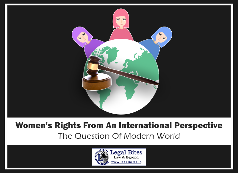 Women's Rights From An International Perspective