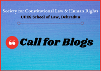 Blog Submissions: Constitutional Law