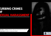 Curbing Crimes of Sexual Harassment