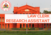 law clerk research assistant karnataka high court