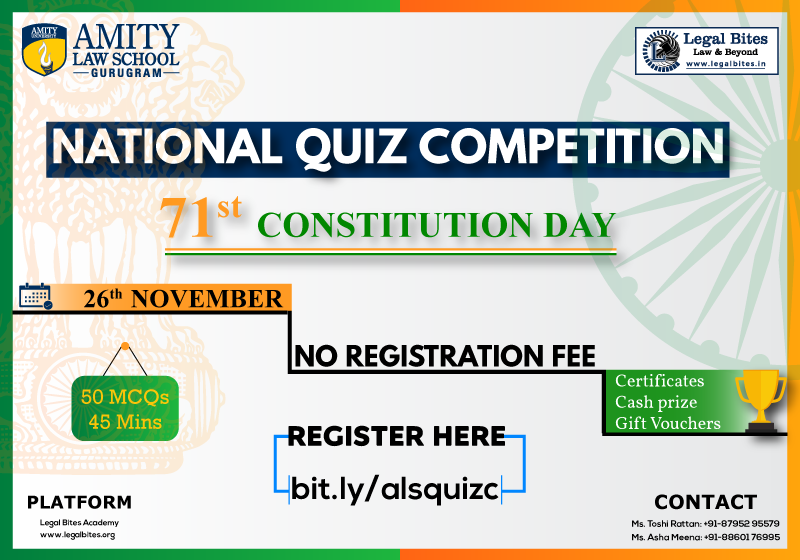 71st constitution day amity quiz