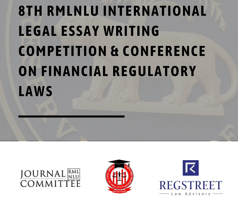 8th International Legal Essay Writing Competition & Conference on Financial Regulatory Laws | RMLNLU