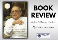 Book Review: Before Memory Fades by Fali S Nariman