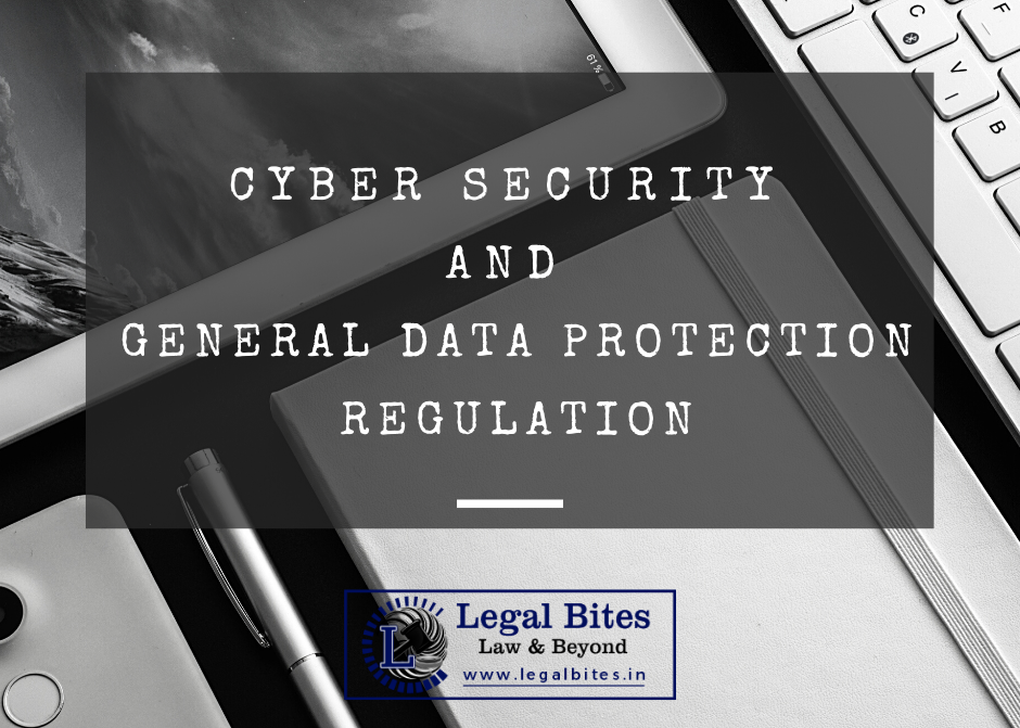 Cyber Security and GDPR