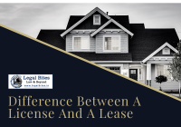 Difference Between License And Lease