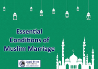 Essential Conditions for Muslim Marriage