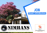 JOB: Project Officer(Policy & Law)   NIMHANS - Ministry of Women & Child Development