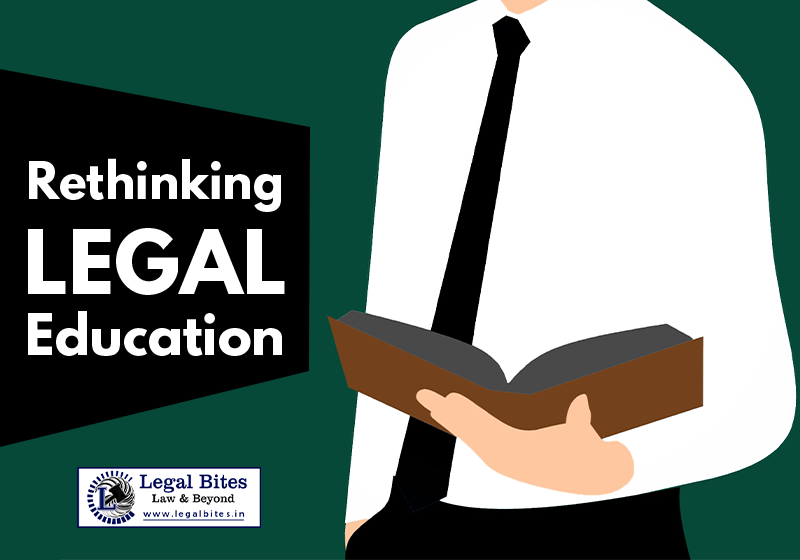 Rethinking Legal Education: Why Going Back to the Past is the New Form of Dynamism?