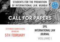 Call for Papers: SPIL International Law Journal Volume 1 (Revival Edition) [Deadline Extended]