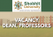 Vacancy: Dean, Professors at School of Law, Shobhit University, Meerut