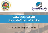 Call for Papers: Journal of Law and Ethics | Department of Law, PIMR