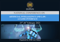 DME National Conference on Artificial Intelligence and Law: A Close Interface