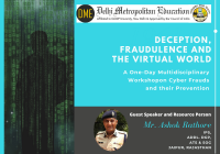 DME Noida: One-Day Multidisciplinary Workshop on Cyber Frauds