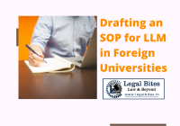 Drafting an SOP for LLM in Foreign Universities