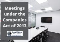 Meetings under the Companies Act of 2013