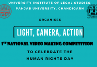 "National Video Making Competition ""Light, Camera, Action"" 