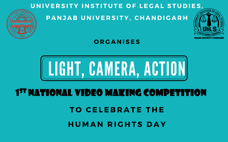 """National Video Making Competition """"Light, Camera, Action"""" 