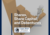 Shares, Share Capital and Debentures