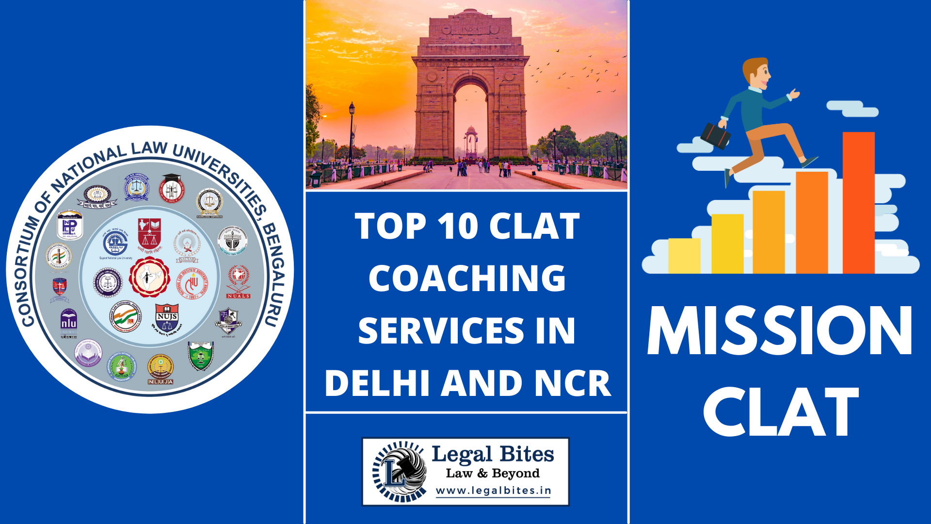 Top 10 CLAT Coaching Services in Delhi and NCR