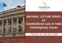 National Lecture Series on Constitutional Law of India: Contemporary Issues | Siddhartha Law College