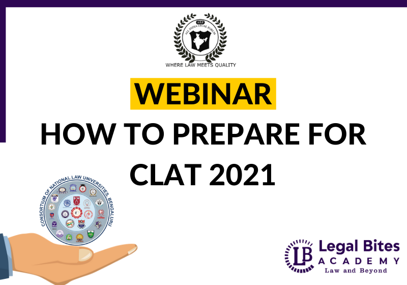 AILF Webinar: How to Prepare for CLAT 2021