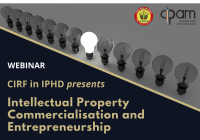 Webinar: Intellectual Property Commercialisation and Entrepreneurship