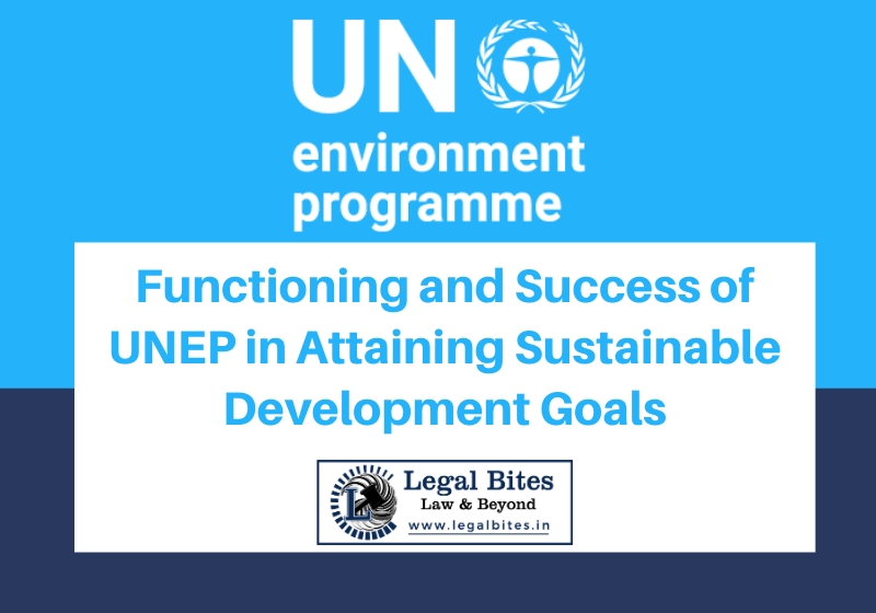 Functioning and Success of UNEP