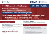 IILM 8th Annual PRME Conference 2021