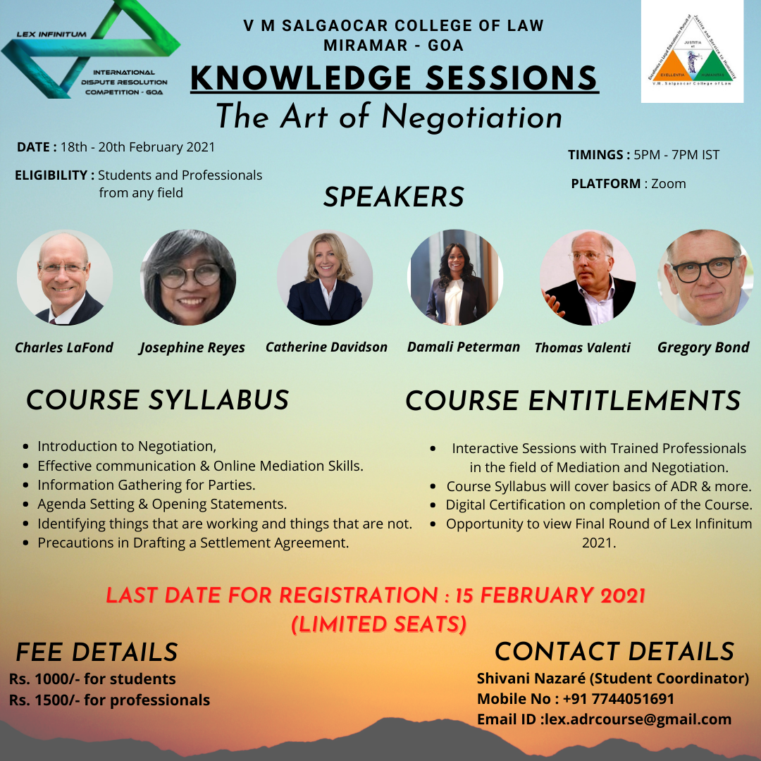 Knowledge Sessions Poster