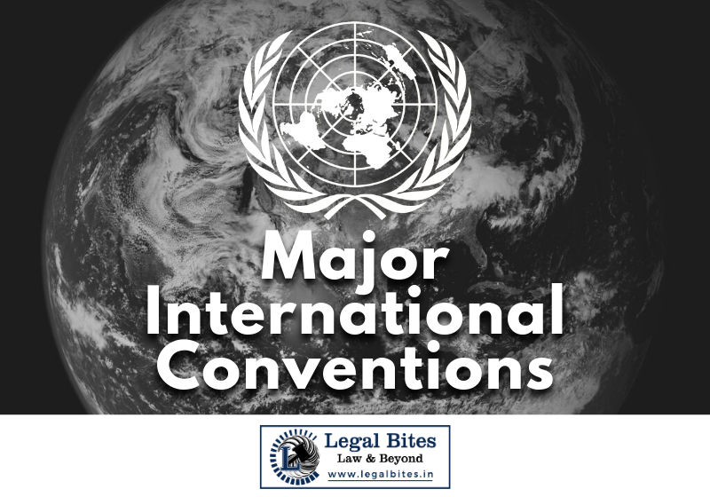 Major International Conventions