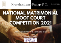 Nyayshastram - Pratap & Co National Matrimonial Moot Court Competition 2021
