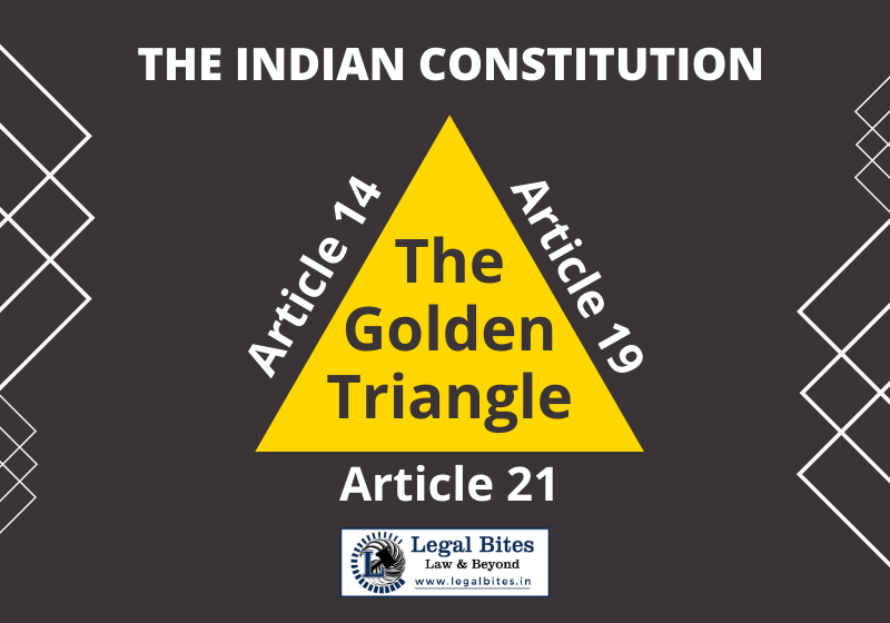 The Golden Triangle in the Indian Constitution