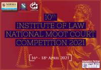 Pre Invite: 10th Institute of Law National Moot Court Competition 2021 in Association with Competition Commission of India | Nirma University
