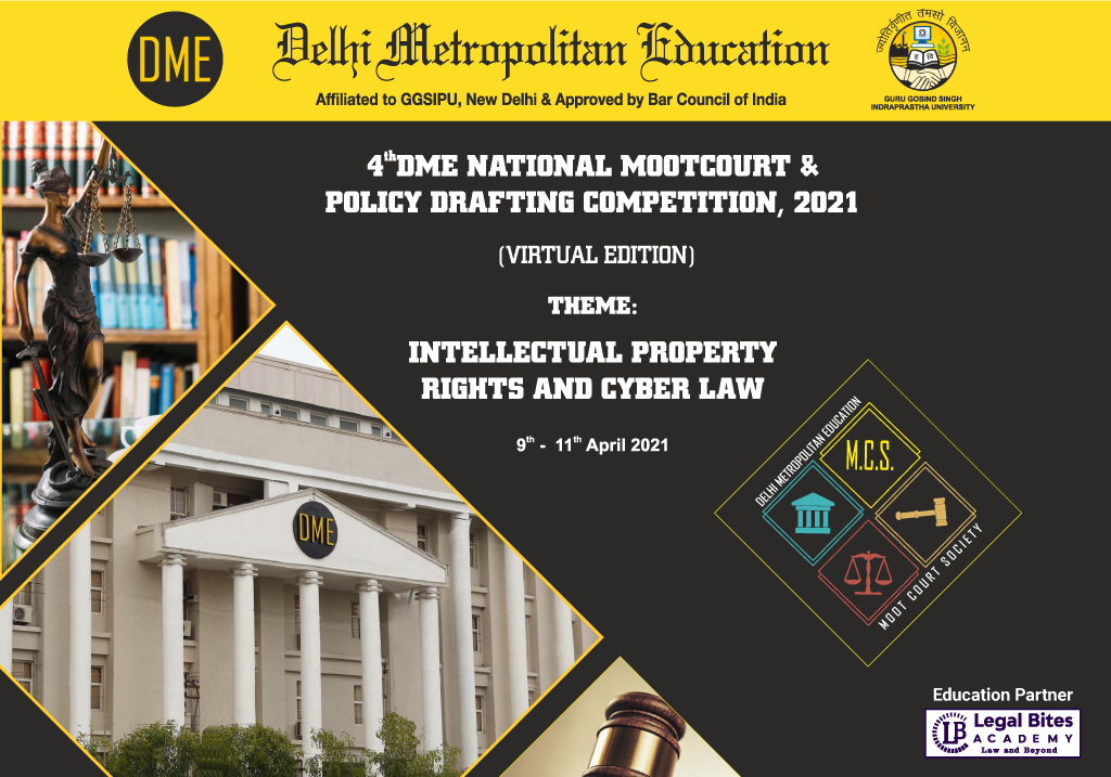 4th DME National Moot Court and Policy Drafting Competition 2021