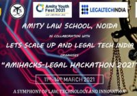 AMIHACKS: Legal Hackathon 2021 | Amity Law School, Noida