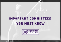 Important Committees you must Know