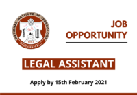JOB: Legal Assistant | National Institute of Technology Tiruchirappalli