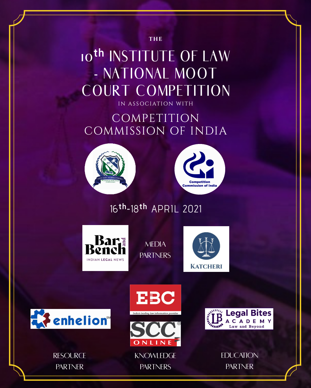 10th Institute of Law, National Moot Court Competition 2021