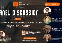 Panel Discussion: Do Women Routinely Misuse The Laws