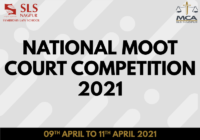 National Moot Court Competition 2021 | Symbiosis Law School, Nagpur