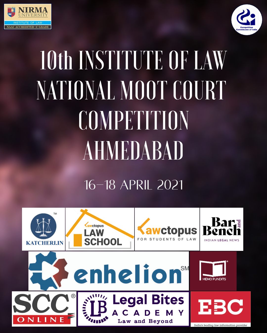 10th Institute of Law Moot Court Competition 2021