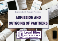 Admission and Outgoing of Partners