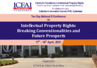 National E-Conference: Intellectual Property Rights | ICFAI Law School, Hyderabad