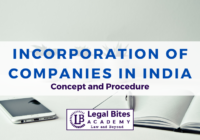 Incorporation of Companies in India