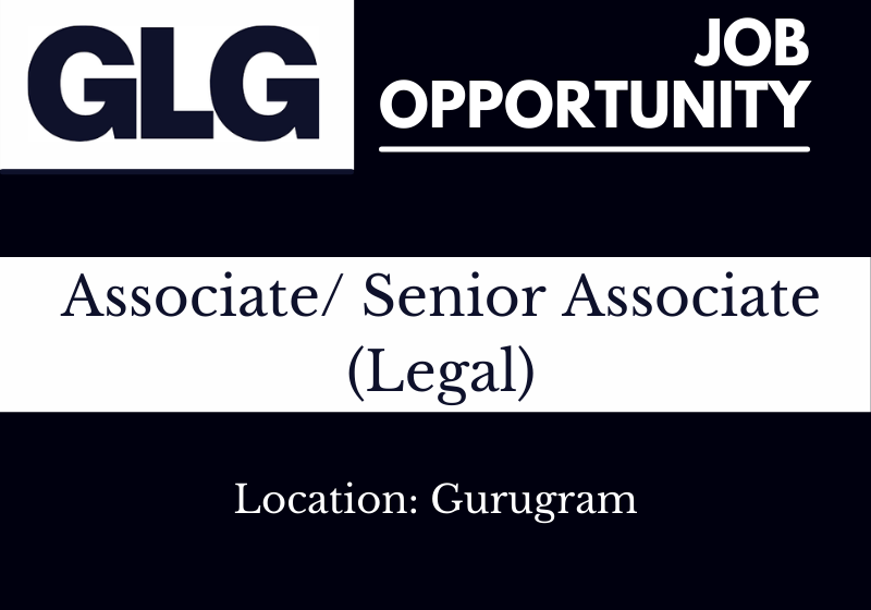 JOB: Associate/Senior Associate - Legal | GLG - Gerson Lehrman Group