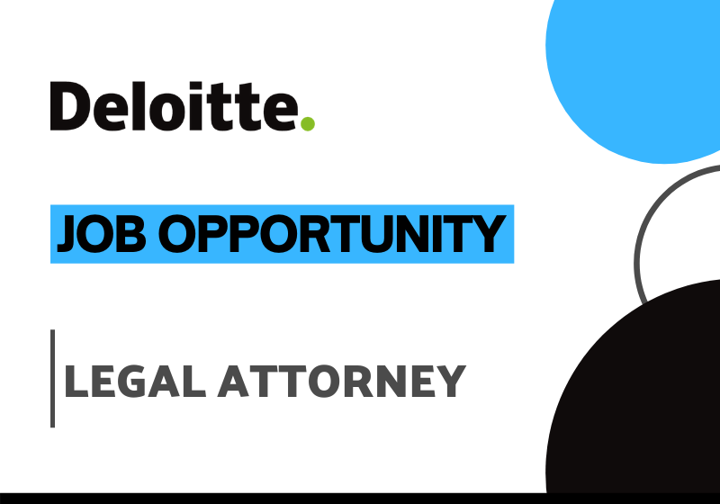 JOB Legal Attorney Deloitte India (Offices of the US)