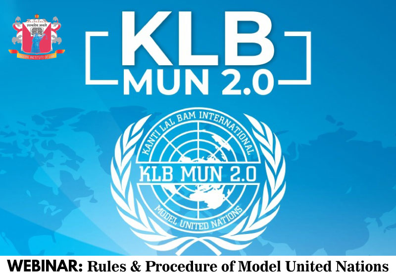 Webinar: Rules & Procedure of Model United Nations | Indore Institute of Law